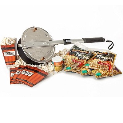 Outdoor Popcorn Popper - Grilling Gifts