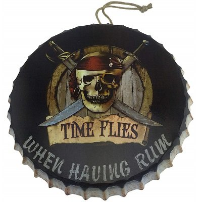 Hanging Bar Sign - Rum Gifts