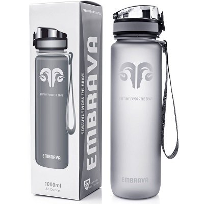 Water Bottle - Weightlifting Gym Accessories Gifts