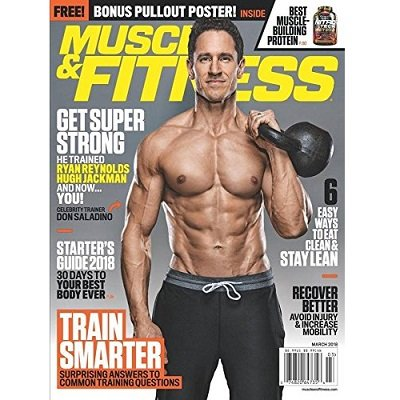 Muscle and Fitness Magazine - Weightlifting Gift Ideas