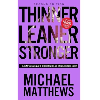Tinner Leaner Stronger - Weightlifting Book Gifts